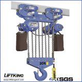 grua 20t Chain elétrica resistente para despesas gerais