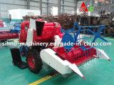 moissonneuse de riz de largeur de découpage du pouvoir 1200mm de l'engine 14HP mini