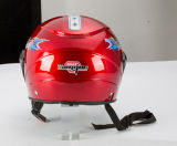 De de nieuwe Motor van het Gezicht van de Aankomst Goedkope Open/Helm van de Autoped/van de Motorfiets (OP240)