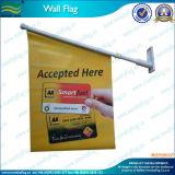 Флаги полиэфира установленные стеной с пластичным Поляк (T-NF12F10007)