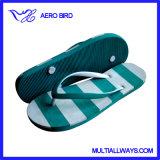 Причудливый тапочка сандалии Flop Flip пляжа для девушки (13L308)