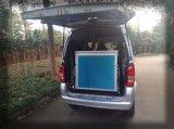 ヴァンのための手動車椅子の傾斜路、ローディング350kgを用いるヴァンのための手動導板