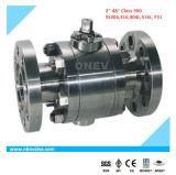 "F304/316 Floating Manual Forged Flanged Ball Valve (1 "" - 800lb)"