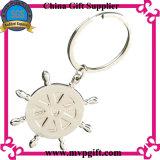 Catena chiave in bianco del metallo per il regalo dell'anello portachiavi (m-MK11)