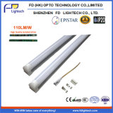 CE RoHS 1500mm 22W T8 Integrated Tube Light 3years Warranty
