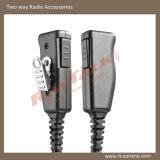 Écouteur clair de tube de garantie pour la radio bi-directionnelle d'Eads Thr880I