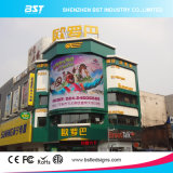 Commercial Adertising를 위한 Evergy Saving P6 SMD Outdoor Full Color Curved LED Video Wall