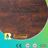12.3mm HDF AC3 Embossed Cherry Waxed Edge Laminate Flooring