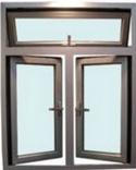 Inclinação dos preços introdutórios e portas de alumínio e Windows da volta