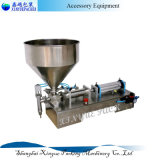 Máquina de embotellado líquida semi automática neumática del acero inoxidable