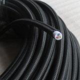 Шнур сбор винограда кабельной проводки кабеля ткани кабеля тканья электрический