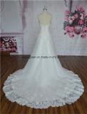 A - линия шикарное платье венчания 2016 Делать-в-Китая шнурка