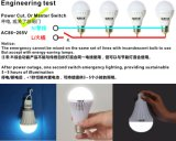 9W Rechargeable Emergency LED Bulb con Backup Battery E27 B22