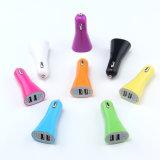 Chargeur duel coloré universel de véhicule d'USB