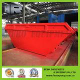 Grandes escaninhos ao ar livre vermelhos da faixa clara da forma do barco