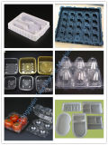 Vide de plateau de boîte d'emballage en plastique formant la machine du constructeur