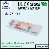 линия провода соединительного кабеля 10PCS/Pack