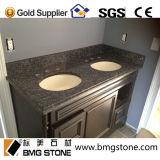 Верхние части тщеты ванной комнаты встречной верхней части кухни голубого гранита перлы изготовленный на заказ