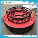 Etapa redonda de la etapa de aluminio del círculo de la etapa del partido de la espuma