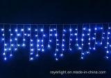 De binnen LEIDENE van Kerstmis van de Decoratie Kleurrijke Lichten van de Ijskegel