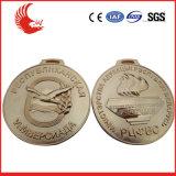 Medaglia di fusione sotto pressione in lega di zinco di sport di marchio/medaglia di maratona