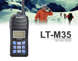 O rádio marinho IP-X7 do VHF Waterproof o Walkietalkie Lt-M35