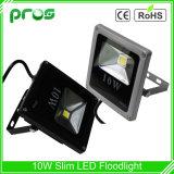 Luzes de inundação magros do diodo emissor de luz do poder superior da ESPIGA 10W