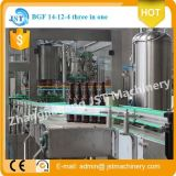 3 automáticos en 1 Beer Filling Production Machine