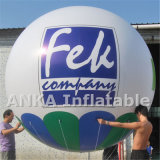 Aerostato gonfiabile di gioco del calcio dell'elio per gli eventi di promozione