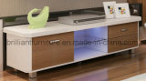 Basamento di legno moderno della mobilia LED TV del salone (BR-TV952)