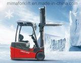 Forklift elétrico do armazenamento frio