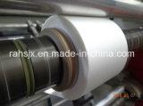 Papel y máquina plástica el rebobinar de la cortadora de la escritura de la etiqueta