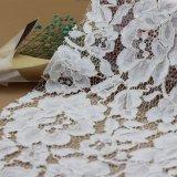 Tissus en nylon de lacet de cordon de broderie pour des accessoires de vêtements