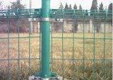 二重ループによって溶接される金網の塀または庭の金網