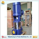 Pompe à plusieurs étages centrifuge verticale d'acier inoxydable