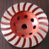 Колесо чашки Turbo диаманта, меля диск