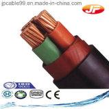 Средств силовой кабель напряжения тока изолированный XLPE