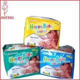 Оптовой продажи младенца OEM пеленки младенца счастливой устранимые сонные