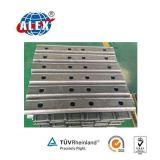 강철 가로장 연결을%s 철도 Fishplate (BS75A)