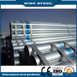 Tubo d'acciaio galvanizzato tuffato caldo di Q195 Q235 per materiale da costruzione