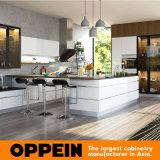 새로운 디자인 현대 높은 광택 래커 나무로 되는 도매 부엌 찬장 (OP16-L19)