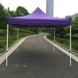 3X3m purpurrote im Freienstahl knallen oben Gazebo-faltendes Zelt