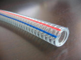 Aucune pipe spiralée de fil d'acier de PVC d'odeur