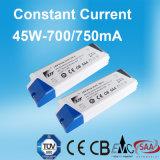 45W 700mA konstante Stromversorgung des Bargeld-LED mit Cer SAA