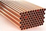 Tubos de cobre amarillo de aluminio de ASME Sb111 C68700, tubo del cambiador de calor Cuzn20al2
