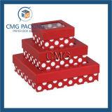 Pappfach-Geschenk-Kasten mit Farbband