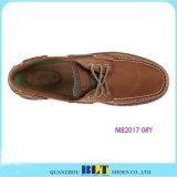 Ботинки шлюпки Brown кожаный