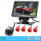 7 polegadas Rear View Reversing System com Radar, Camera