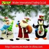 Ornamenti svegli dell'albero di Natale delle decorazioni di natale dei pinguini