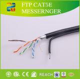Plattfisch führte UTP Cat5e LAN-Kabel mit ETL